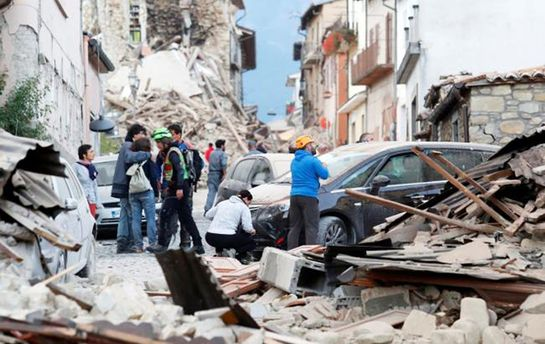 Землетрясение вИталии: украинцев среди погибших ираненых нет— МИД