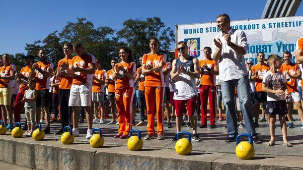 Вцентре Киева 27августа состоится чемпионат Украины поStreet Workout