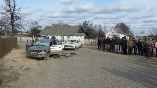 Празднование дня села вСумской области завершилось стрельбой и потасовкой сбитами