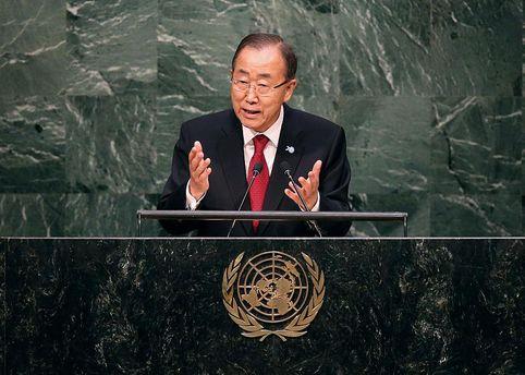 Уполномоченный Украины вмеждународной Организации Объединенных Наций раскритиковал генерального секретаря