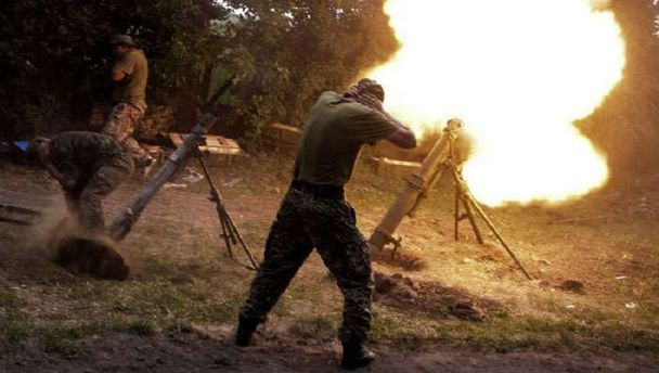 Штаб: невзирая нарежим тишины боевики продолжают обстрелы взоне АТО