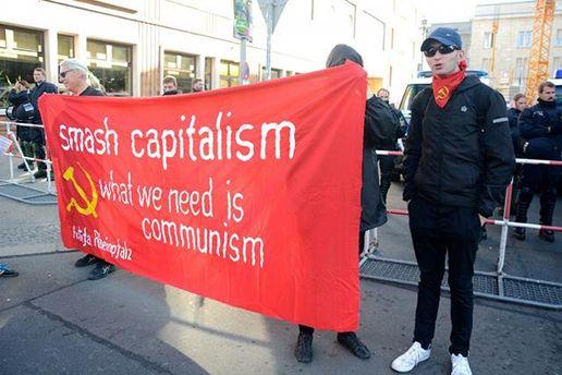 Акції протесту у Берліні