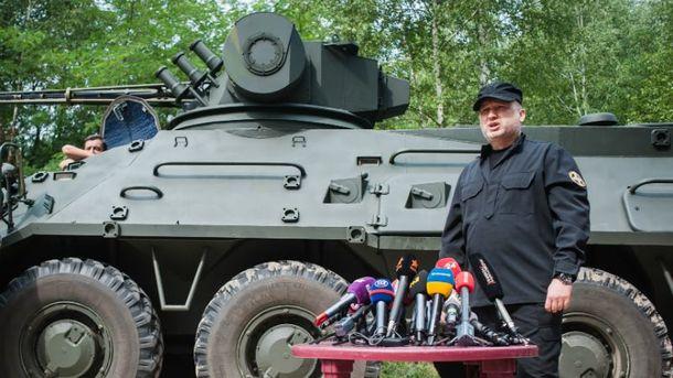 РФ пробует посеять вгосударстве Украина угнетение, панику истрах,— Турчинов