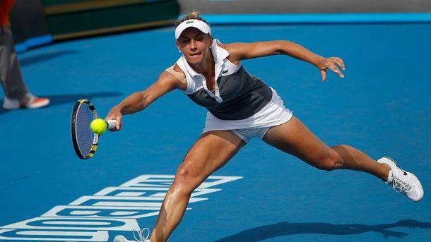 Леся Цуренко шагает по кортам US Open
