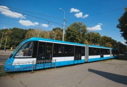ВВиннице презентовали трамвай будущего
