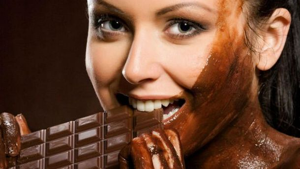 Шоколад очень полезен