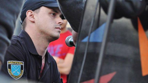 Полицейский Вячеслав Писаренко