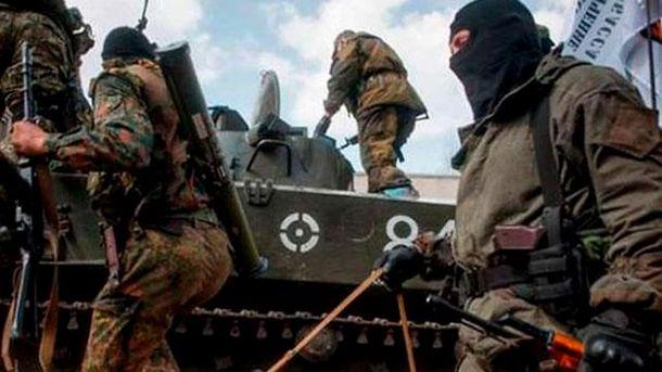 Бойовики на Донбасі