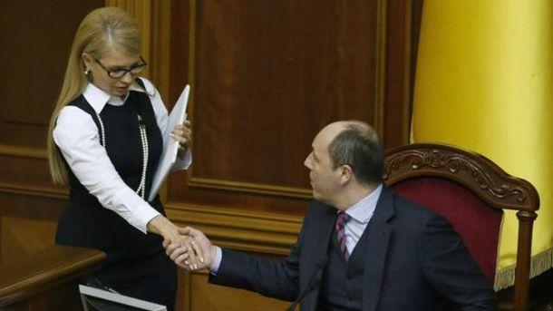 Парубий: Списки нардепов-прогульщиков сзавтрашнего дня будут публиковаться вГолосе Украины