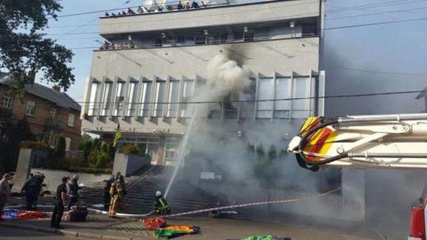 Аваков: Серверы «Интера» повреждены, они были залиты водой