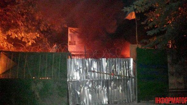 Забудовники підпалили машини активістів