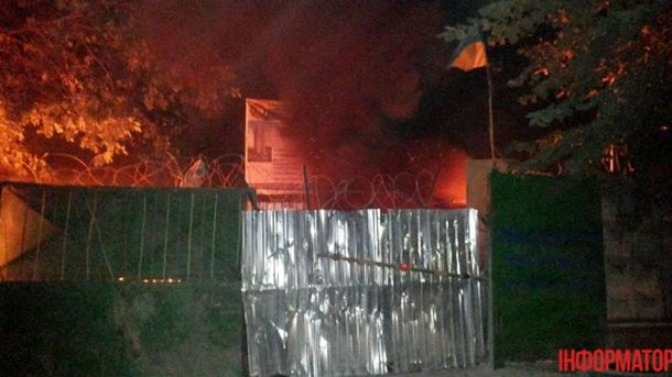Застройщики подожгли машины активистов