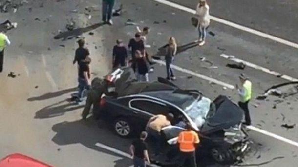 Водитель погиб на месте