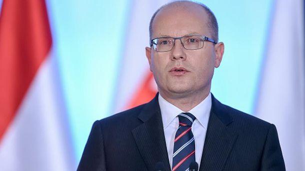 «Л/ДНР» неполучат дипломатической миссии вгосударстве — Премьер Чехии