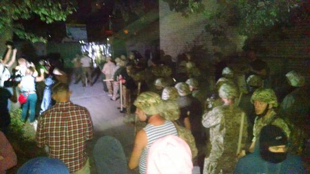 Конфликт между застройщиком и горожанами на Святошино