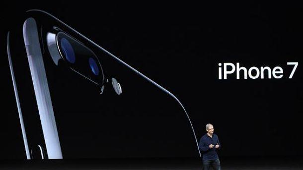 Apple презентує iPhone 7