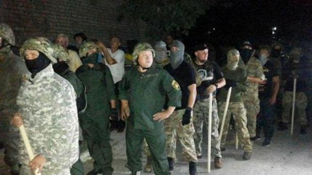 На месте столкновений присутствовали батальоны