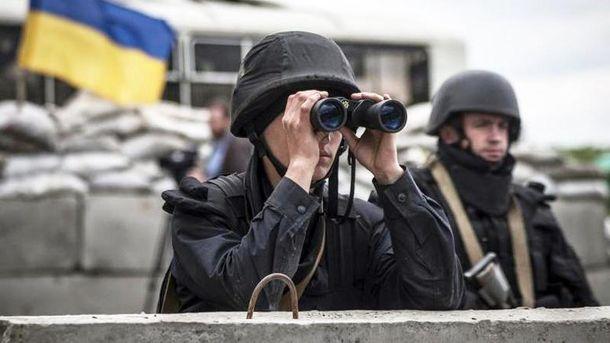 Взоне проведения АТО вобщем ситуация характеризуется соблюдением «режима тишины»