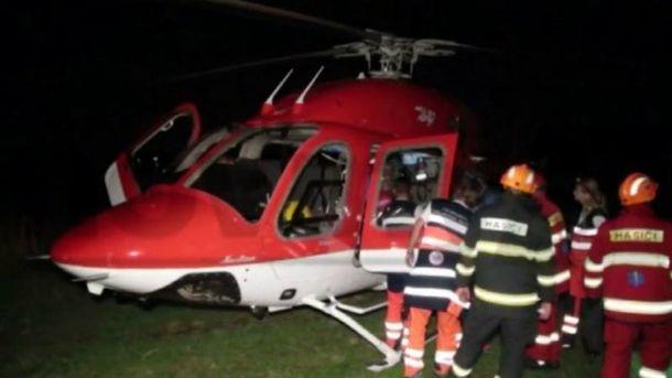 Медичний вертоліт розбився в Словаччині