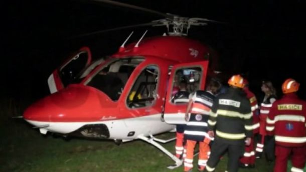 Медицинский вертолет разбился в Словакии
