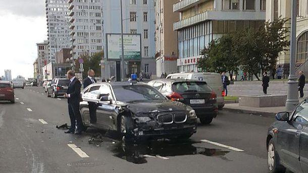 аварія з авто Суркова