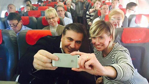 Саакашвили любит много летать