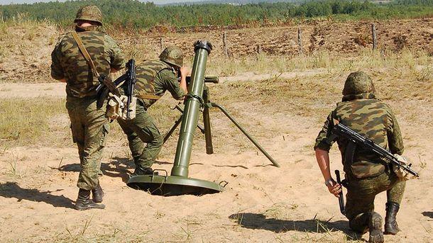 Оккупанты били по украинцам из минометов калибра 120 мм