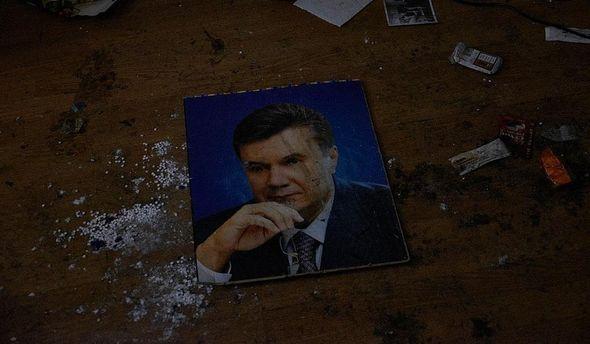 Портрет Януковича