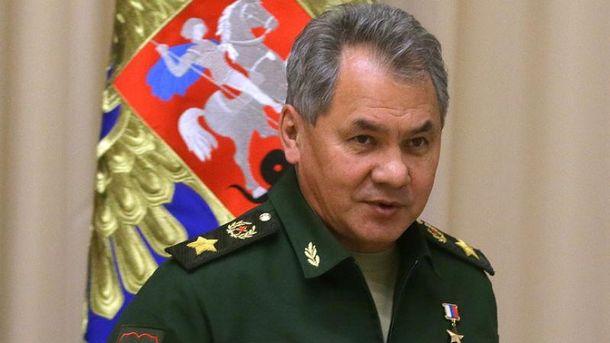 Шойгу приїхав у Крим