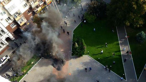 Столкновения под Киевгорстроем