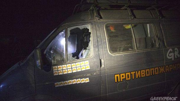 Неизвестные избили активистов Greenpeace наКубани