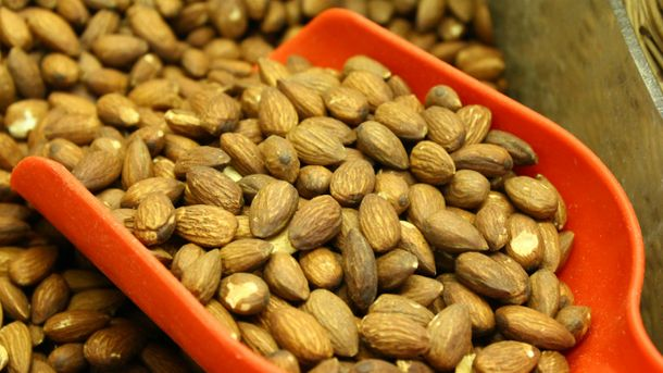 Орехи очень калорийные