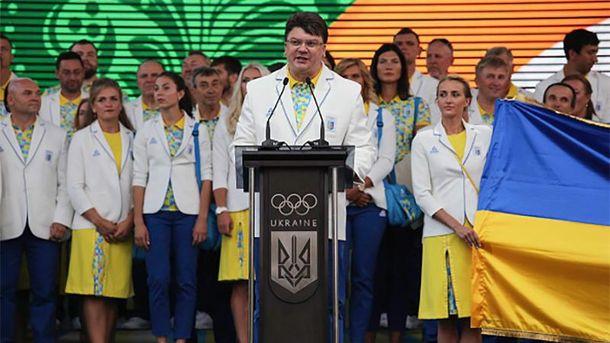 Игорь Жданов вместе с олимпийцами