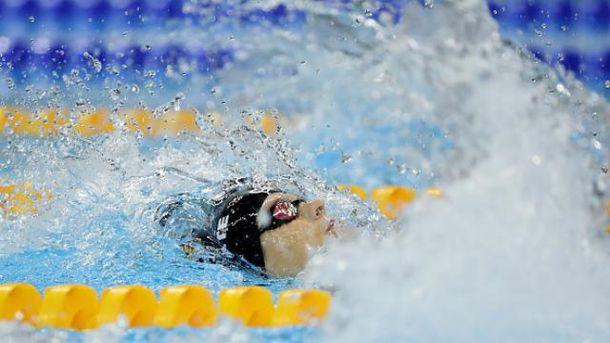Сразу два золота украинцы получили в плавании
