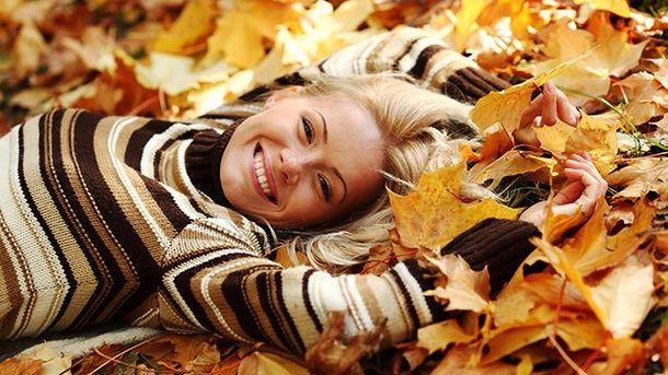 Чтобы иметь хорошее настроение осенью, надо правильно питаться