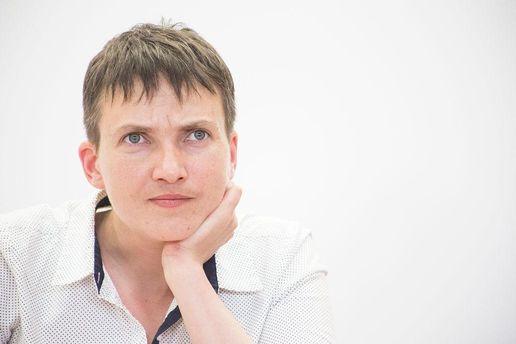 Для Савченко президента в Украине не существует