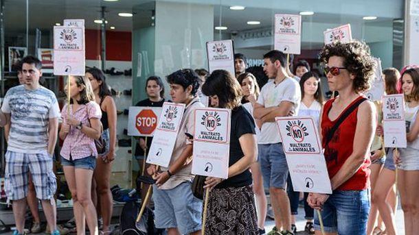 Мітинг у Мадриді