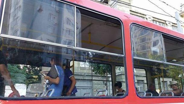 Спор в трамвае перерос в стрельбу