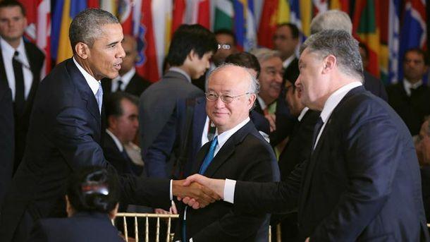 Порошенко встретится сОбамой наполях Генассамблеи ООН,— Климкин