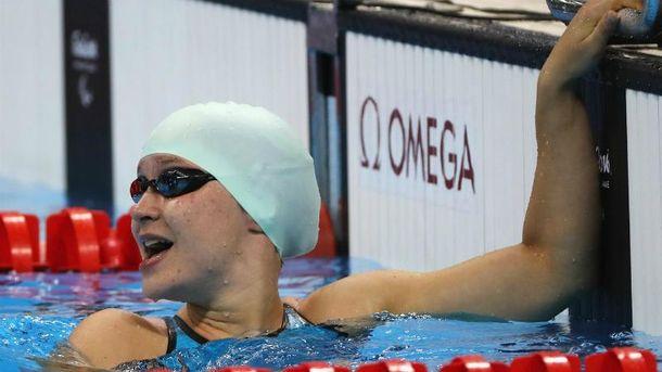 Паралимпийская чемпионка Елизавета Мережко