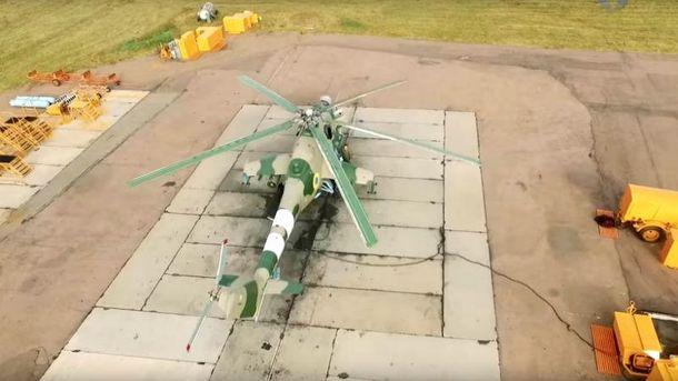 Вертолеты оснащены мощным вооружением