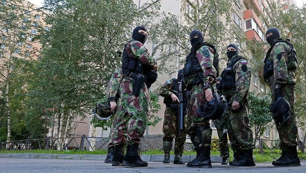 Російські спецслужбовці