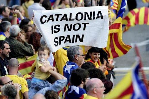 Сепаратисты из Каталонии