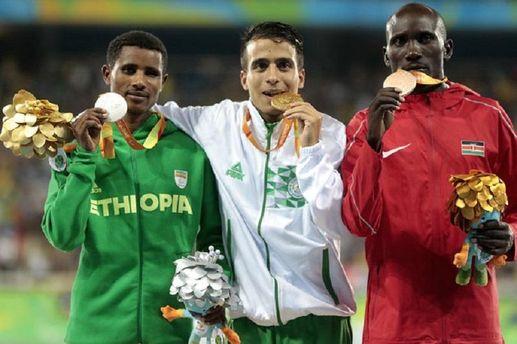 Чемпионы-паралимпийцы