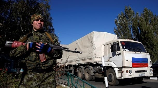 Россия уже давно присутствует на Донбассе