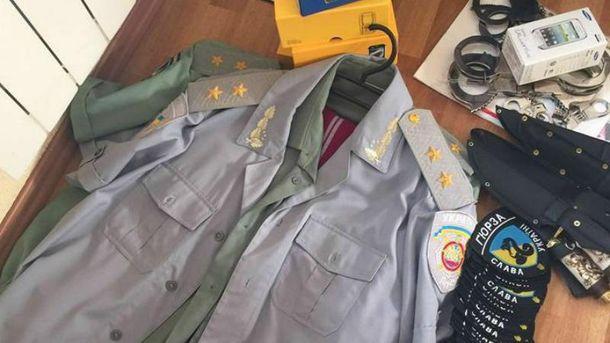 Мошенников с генеральскими погонами разоблачили в Киеве
