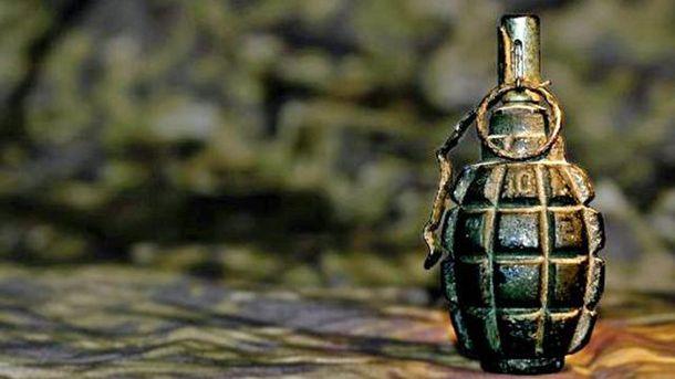 Боевую гранату обнаружили на КПВВ