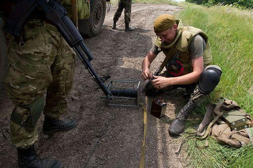 Великобритания даст Украине 2 млн фунтов стерлингов наразминирование Донбасса