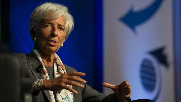 Кристин Лагард объяснила, зачем дала Украине деньги