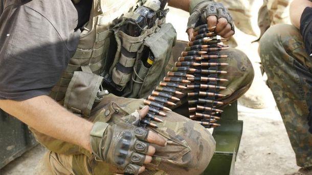 Українські воїни вогонь у відповідь не відкривають